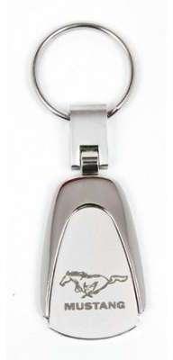 Porte clé Mustang satine