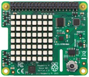 Extension Raspberry Pi officielle