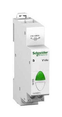 Voyant Modulaire Vert Schneider