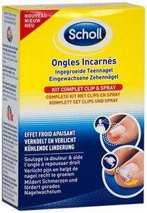 Scholl Kit Ongles Incarnés
