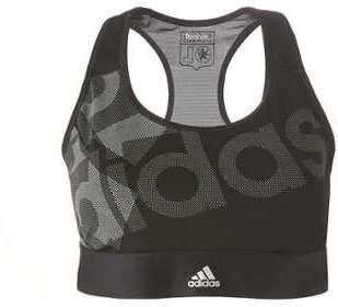 Brassière OL Adidas Noir Blanc