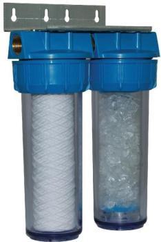 Filtre double anti calcaire