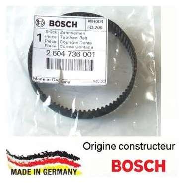 Courroie dentée Bosch 2604736001