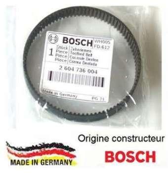 Courroie dentée Bosch 2604736004