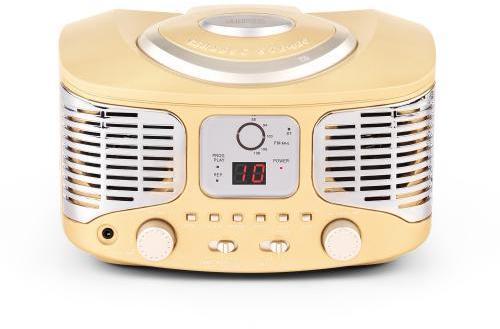 RCD320 Lecteur CD rétro FM
