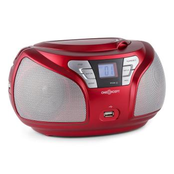 Groovie RD WH Boombox Bluetooth