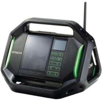 Radio de chantier sans batterie