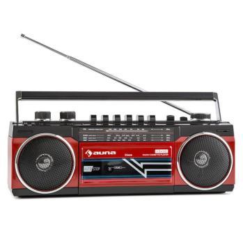 Auna Duke Radio cassette rétro