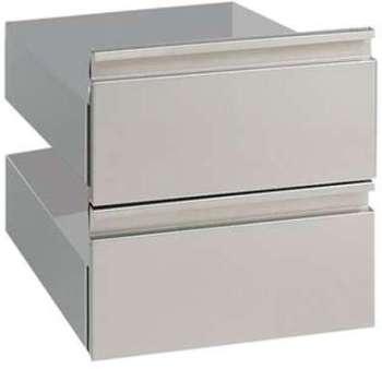 Kit de 2 tiroirs pour soubassement