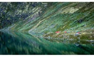 Promo Tableau Scandinave Montagnes