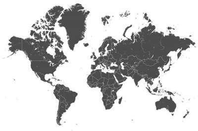 Tableau Voyage Planisphère