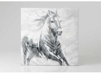 Toile cheval au galop 80 cm