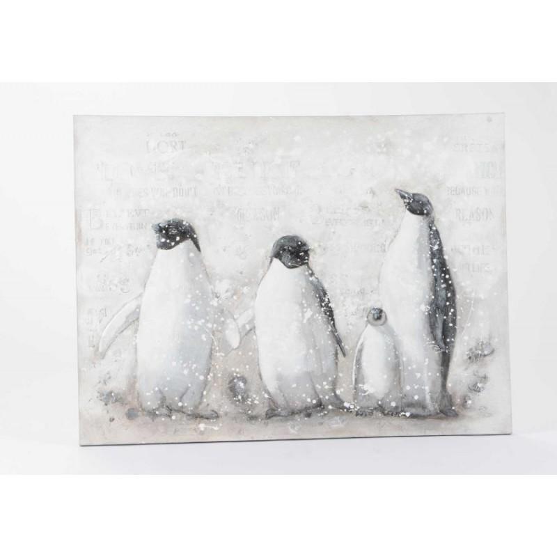 Toile 4 Pingouins