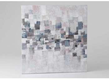 Toiles géométrique kube 100x100