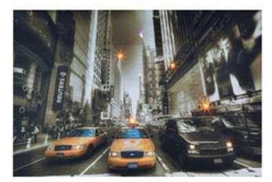 Tableau New York City Lumineux