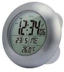 Horloge à ventouse étanche