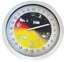 Horloge 24 heures