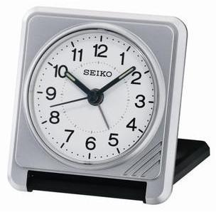 Réveil Seiko voyage gris