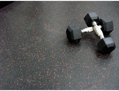 Dalle FitnessClic 6mm Noir