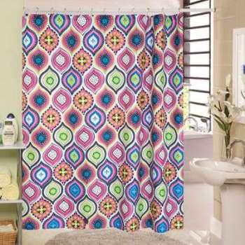 Rideau de douche Inde violet