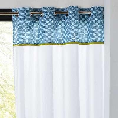ferm rideau de douche en coton et acrylique half moon. Black Bedroom Furniture Sets. Home Design Ideas