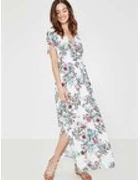 Longue robe imprimée