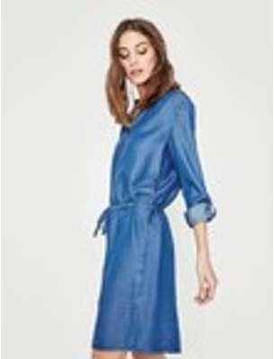 Robe couleur jean Femme