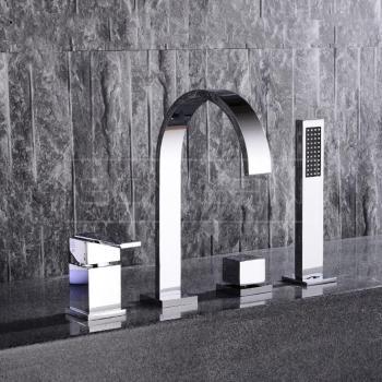 Set robinet de baignoire sur