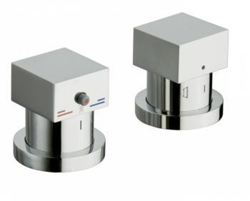 Catgorie robinet page 22 du guide et comparateur d 39 achat - Mitigeur thermostatique bain douche sur gorge ...
