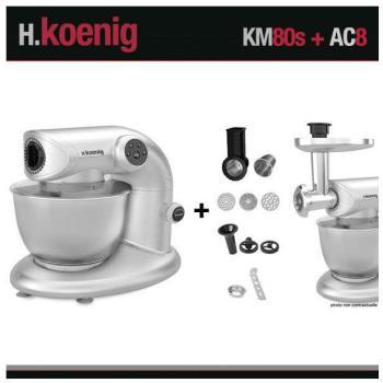 Robot pétrin KM80 S Silver