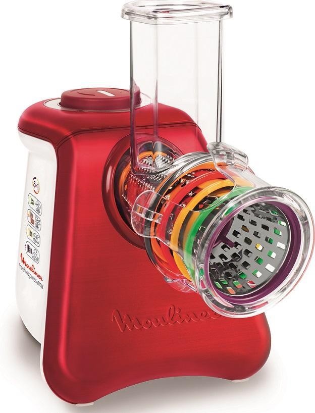 Rapeur trancheur moulinex fresh express max 5en1 dj812510 - Moulinex fresh express accessoire ...