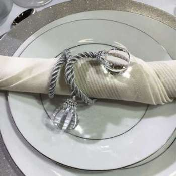 Set 4 ronds de serviettes