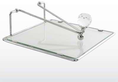 Porte-serviette de table verre