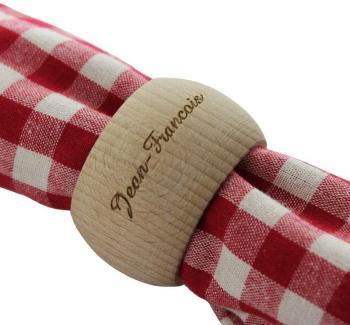 Rond de serviette en bois