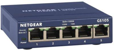 Switch ethernet Netgear Gigabit