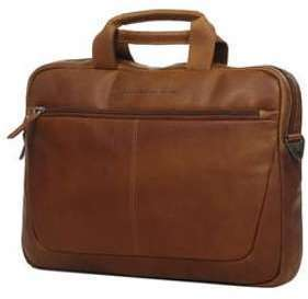 Sac ordinateur The Chesterfield Brand George 16 pouces - 2 cp Marron TOGEDRKh