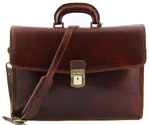 Cartable Cuir Marron Homme
