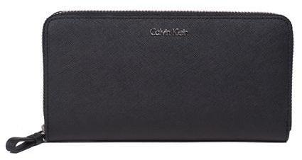 Calvin Klein Compagnon en cuir Sofie - 12 cartes Noir nnGiUXH