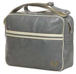 Besace Fred Perry Classic Shoulder Bag Grey gris SXSEL
