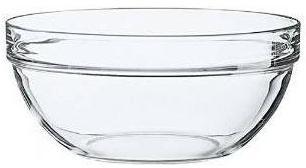 Saladier en verre empilable
