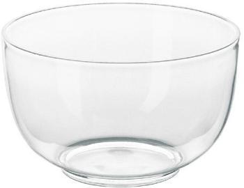 Saladier en plastique transparent