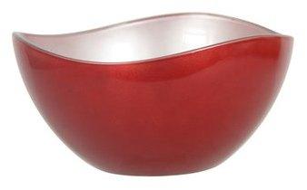 Saladier Metallik - rouge