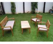 Salon de jardin 4 places en