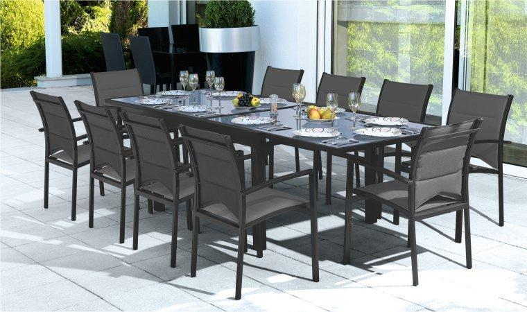 Beautiful table de jardin extensible modulo photos for Table 4 personnes extensible