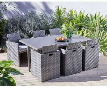 CARREFOUR Set de jardin Madang