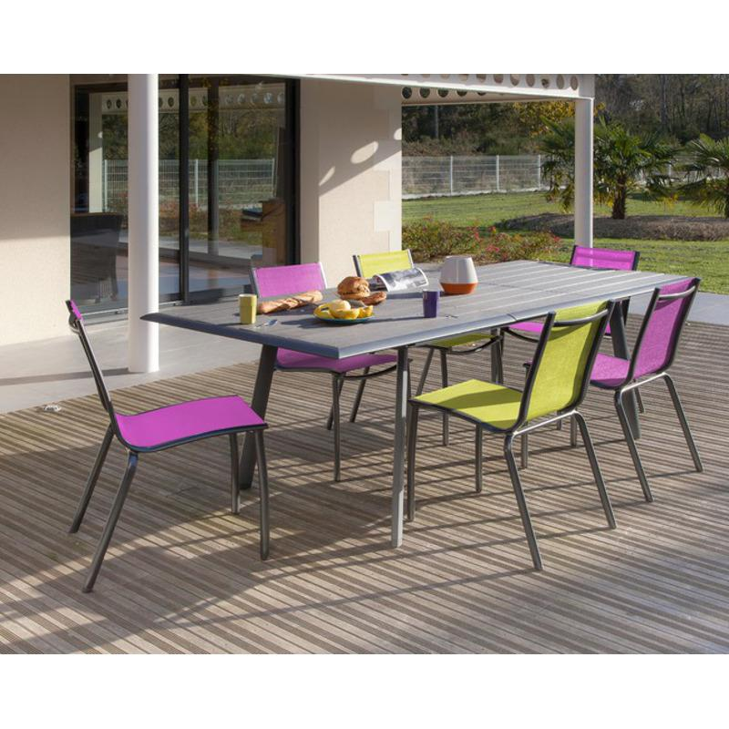 Salon de jardin couleur hoze home for Chaise salon de jardin couleur