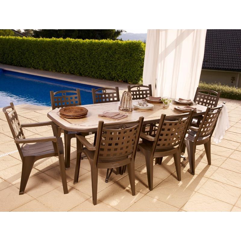 grosfillex fauteuil fidji ii blanc. Black Bedroom Furniture Sets. Home Design Ideas