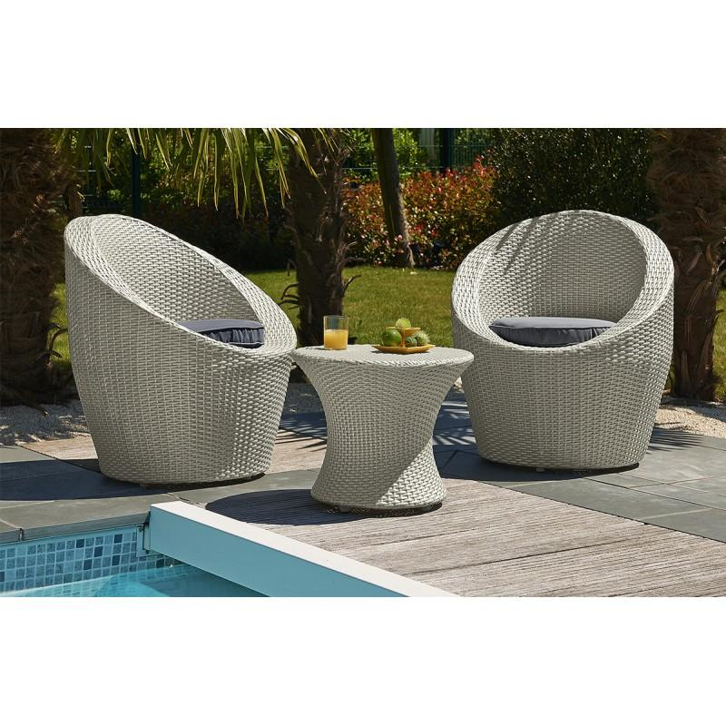 salon de jardin modulable en