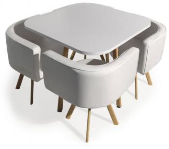 Table Avec Chaises Encastrables