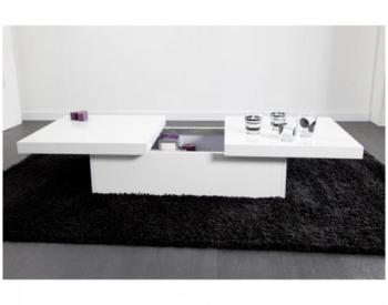 Promo Table basse blanche